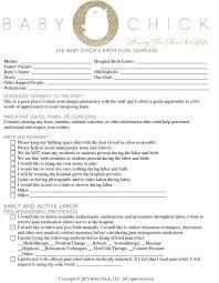 Bradley Birth Plan Template Printable Birth Plan Templates Birth Plan Checklist Nurul Amal