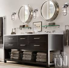 unusual bathroom furniture. Source Unusual Industrial Round Bathroom Mirror Ideas For Traditional Room With Minimalist Vanity Using Marble Top Furniture