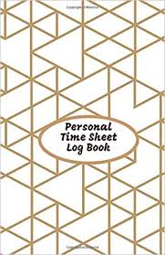 Personal Time Sheet Log Book Daily Work Timesheet Template
