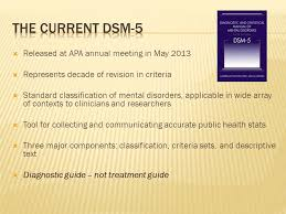 the cur dsm 5 released at apa annual meeting in may 2016