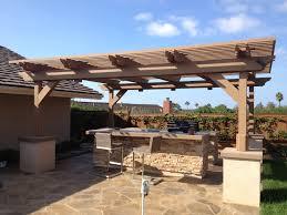 free standing patio covers cornerstone decks img 1539oof cover kits costco vinyl diy