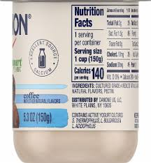 These products meet the minimum requirements for the women, infant, and children supplemental nutrition program (7 cfr section 246.10). Dillons Food Stores Dannon Coffee Lowfat Yogurt 5 3 Oz