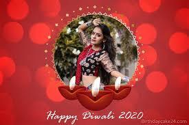 happy diwali 2020 photo frames free