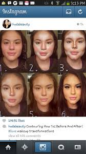 tip when you do highlight and contour you dont need that much eye lip blush makeup as she is