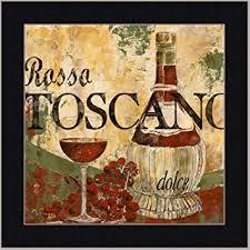 dining room wall art amazon. wine tuscan italian dining room decor art print framed wall amazon a