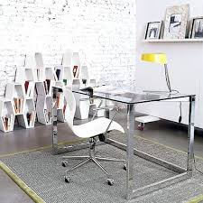 glass home office desk. glass top desks for home office contemporary uk desk canada u