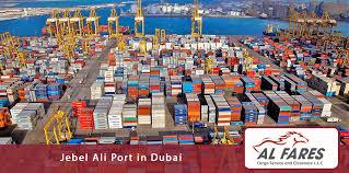 port company color chart jebel ali port in dubai al fares cargo service and clearance