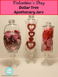 Apothecary Jars Decorating Ideas Ria's World of Ideas Valentine's Day Dollar Tree Apothecary Jars 52