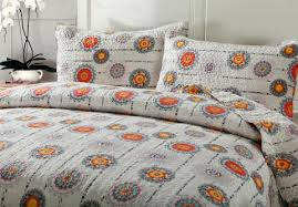 Bohemian Grey Twinkle Constellations Sun and Stars Thin ... & ... DaDa Bedding Bohemian Twinkle Constellations Sun and Stars Thin &  Lightweight Reversible Patchwork Quilted Bedspread Set ... Adamdwight.com