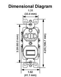 5245 w how to wire a 3 way plug outlet at Leviton 5245 Wiring Diagram