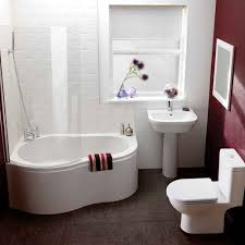 Bathroom, Remarkable Bathtubs For Small Bathrooms Home Appliances With  Towels And Blinds And Toilet And ...
