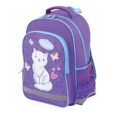 <b>Рюкзак ПИФАГОР SCHOOL</b> 228825 <b>WHITE</b> CAT — купить в ...