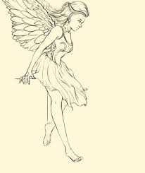 Angel Sketch Artstation Angel Sketch Noelia Anta Carmona
