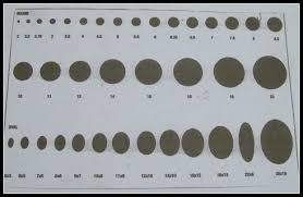 Bead Millimeter Size Chart Qualified Mm Bead Chart Actual Size How To Understand Bead Sizes