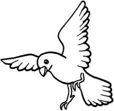 Small Picture Pigeon Eating Fun Bird Coloring Pages Birds to embroider