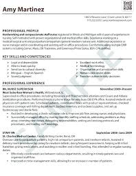 Resume Sample For Nurse Examples Of Nurse Resumes Nursing Student ...