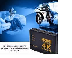 Bộ gộp HDMI vào 3 ra 1 chuẩn 4K*2K - kèm 1 cáp HDMI 4K