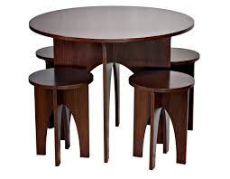 round dining table dark cherry