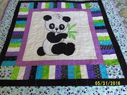 135 best Quilts images on Pinterest | Hand crafts, Quilt patterns ... & Baby Boy Panda Quilt Blanket, Nursery Bedding, Baby boys Blanket, Finished  baby quilts Adamdwight.com