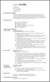 Free Contemporary Translator Resume Templates ResumeNow Mesmerizing Interpreter Resume