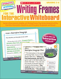 writing frames for the interactive whiteboard by liane onish  writing frames for the interactive whiteboard