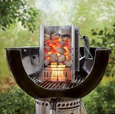 how to use a chimney starter