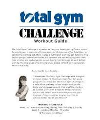 Total Gym Exercises Pdf Free Zenfitt Org
