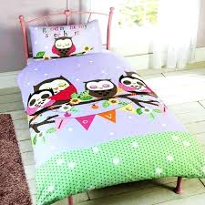 strikingly inpiration c toddler bedding owl twin bed set sets and fantastic photos girl