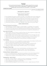 10 Personal Trainer Sample Resumes Proposal Sample