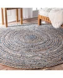 round rugs for in savings on nuloom handmade braided natural fiber jute and denim prepare ikea australia uk perth 6