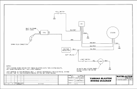easy wiring diagram for you blasterforum com it shows what connects to what its for wiring cdi and head light not tors or other bs that you don t need shows what s needed to run