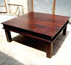 affordable square wood coffee table virtualne