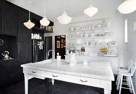white kitchens with black appliances. White And Black Strike An Amazing Contrast In The Design Of This Kitchen. Ebony Cabinets Kitchens With Appliances L