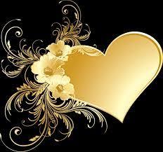Golden Heart Wallpapers - Top Free ...