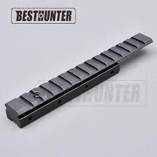 <b>Dovetail Extend Weaver Picatinny Rail</b> Adapter 11mm to 20mm ...