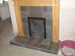 excellent ideas slate tiles for fireplace natural slate tiles in fireplace which adhesive diynot forums