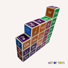 Uncle Goose Elemental Blocks - Art of Toys
