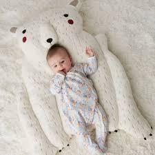 Polar Bear Baby Play Mat