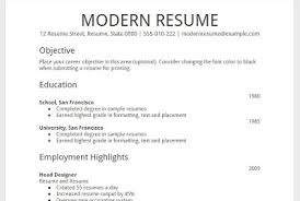 resume templates google docs. Google Docs Modern Resume Template Google Docs Resume Template