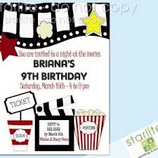 Movie Night Invitation Templates Movie Night Invitations Free Printable Movie Birthday Party