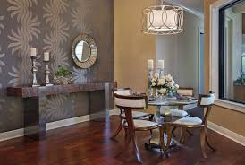 Wallpaper in dining room - large and beautiful photos. Photo to select  Wallpaper in dining room | Design your home