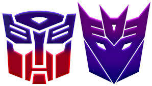 Autobot and Decepticon logos by KalEl7 | Transformers | Transformers ...