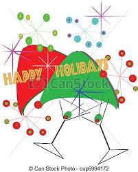 Retro Holidays Retro Happy Holidays