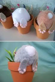 curious little bunny pots top 27 cute and money saving diy