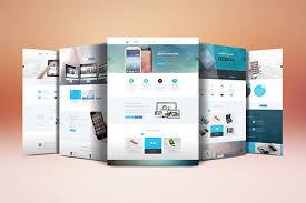 Website Mockup Template Impressive Website Display Mockup On Behance