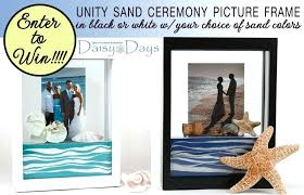unity sand frame enter to win a unity sand ceremony picture frame in either black or unity sand frame