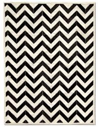 black and white zigzag rug  roselawnlutheran