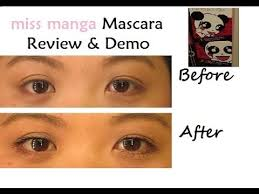 miss manga mascara by loreal review demo