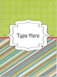 Teacher Binder Templates Editable Teacher Binder Divider Templates By Miss Maharry Tpt