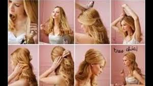 Hair Style For Long Thin Hair easy hairstyles for long thin hair video dailymotion 4779 by wearticles.com